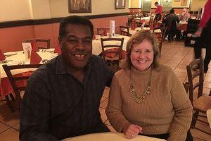 Charles Graham and Pastor Sherrie Hadden