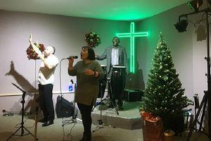 Singers at Chrismas