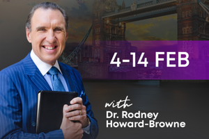 Dr Rodney Howard-Browne Poster