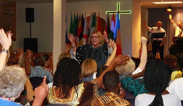 Pastor Sherrie Hadden Ministering The Word