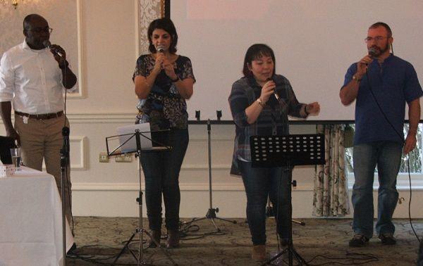 Praise Team Singing
